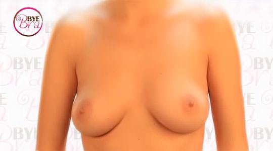 【外人】ブラがなくてもシールでおっぱいの形を整えるポルノ画像 1175