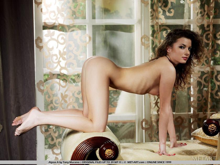 【外人】とびっきりの金髪美女が四つん這いでまんこアピールするポルノ画像 1181