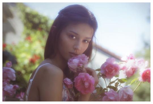 【外人】ブロンドヘアのガチ天使が魅せるプライベートセミヌードポルノ画像 168