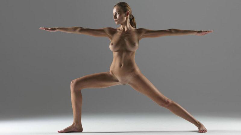 【外人】全裸で集団ヨガに励む美女達のセクシーポルノ画像 2418