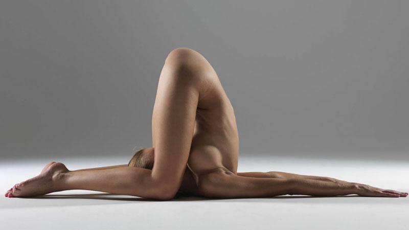 【外人】全裸で集団ヨガに励む美女達のセクシーポルノ画像 2517