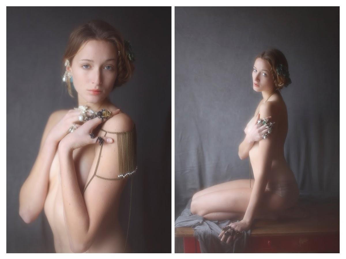【外人】絵画の世界に居るような美少女のセミヌードポルノ画像 382