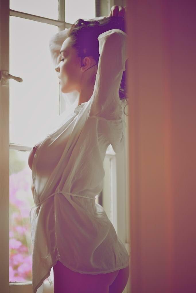 【外人】エヴァ・グリーン激似のJenya Dのおっぱいポルノ画像 397