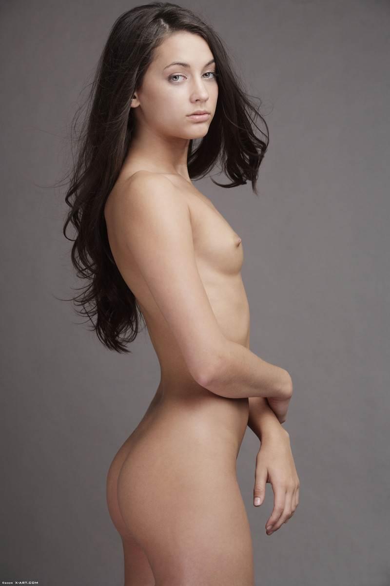 【外人】貧乳おっぱいだけど美しいお尻のジョージア(Georgia)のレズセックスポルノ画像 10111
