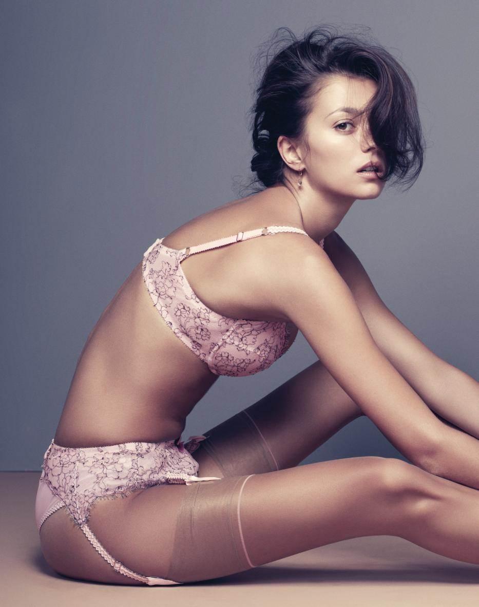 【外人】世界のトップモデルのモルガン・デュブレ(Morgane Dubled)のセクシー下着ポルノ画像 10149