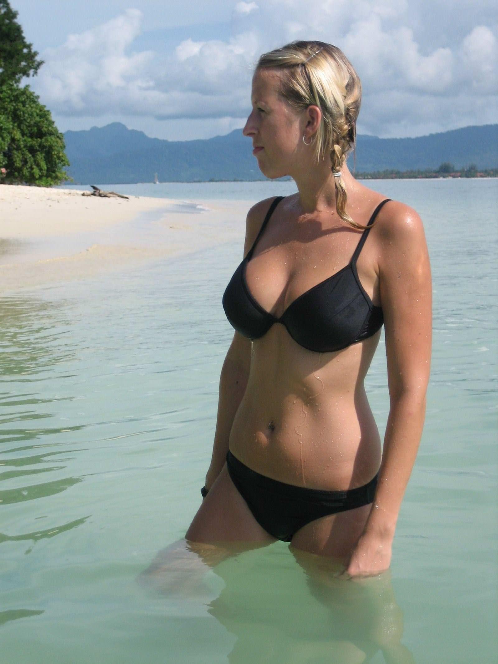 【外人】スウェーデンの金髪素人美女が彼氏とエッチして妊娠した姿を晒すポルノ画像 11150