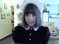 【外人】超かわいいロシア人メイドの美少女ポルノ画像