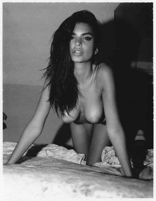 【外人】英国モデルのエミリー・ラタコウスキー(Emily Ratajkowski)の大胆なおっぱいフルヌードポルノ画像 1167