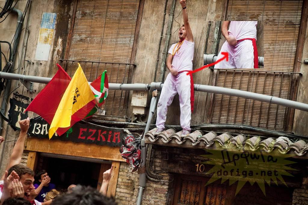 【外人】スペイン3大祭りで男も女もテンション上げまくりでおっぱいポロリしまくるポルノ画像 12125