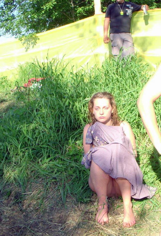 【外人】ヌーディストフェスティバルに参加中の素人美女を隠し撮りしまくった露出ポルノ画像 12255