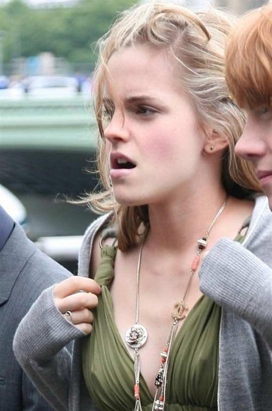 【外人】激カワセレブのエマ・ワトソン(Emma Watson)の胸チラぽろりなおっぱい流出ポルノ画像 1244