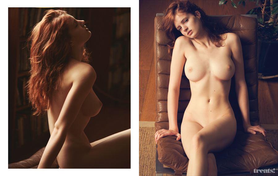 【外人】顔面だけで抜けるレベルのベルギーモデルのファニー・フランソワ(Fanny Francois)の美乳おっぱいポルノ画像 1312