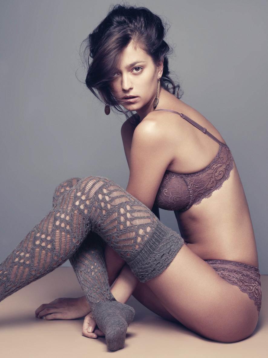 【外人】世界のトップモデルのモルガン・デュブレ(Morgane Dubled)のセクシー下着ポルノ画像 13143