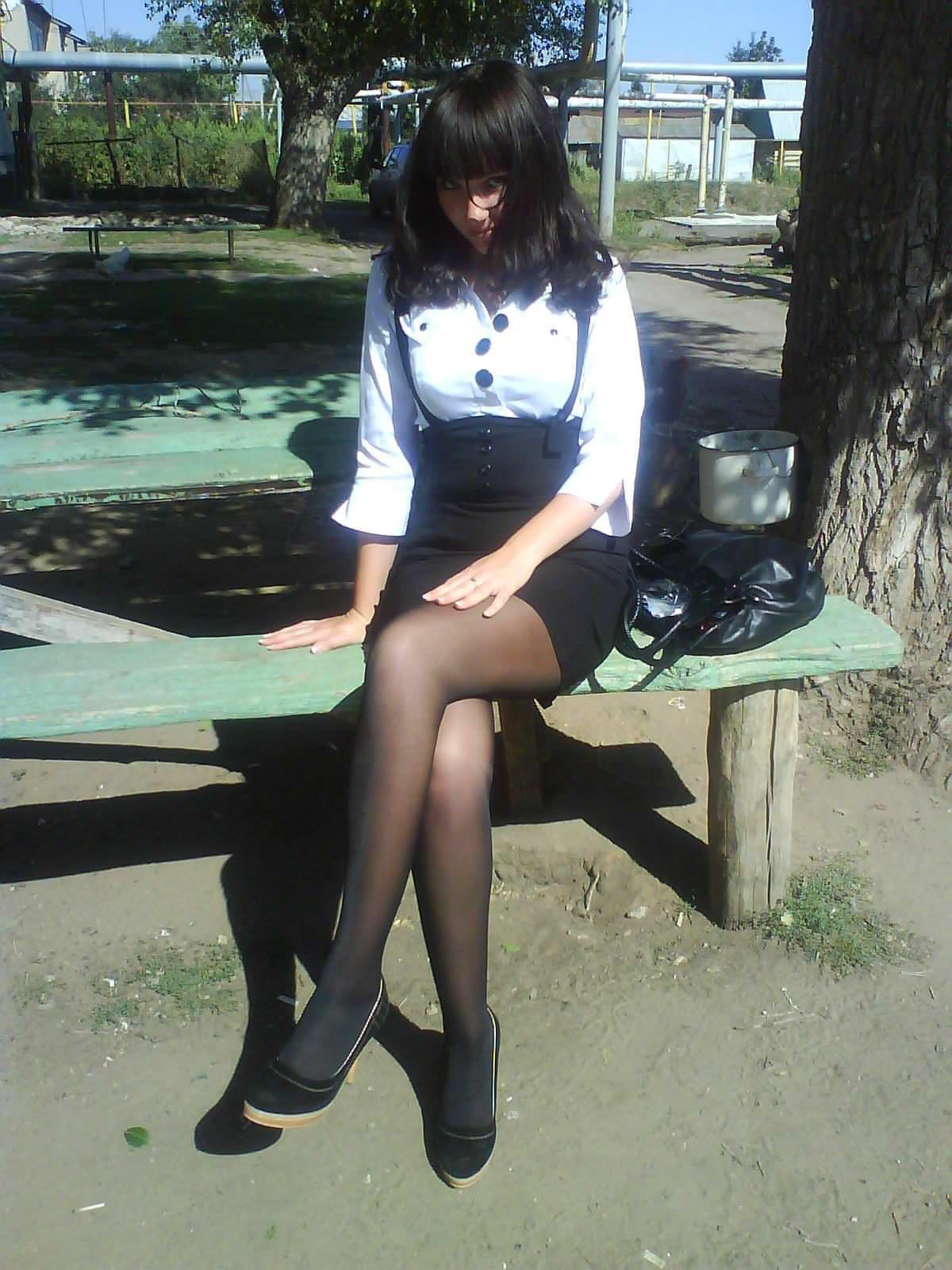 【外人】ロシア人の学生たちがめっちゃ可愛くて大人っぽい制服ポルノ画像 13166