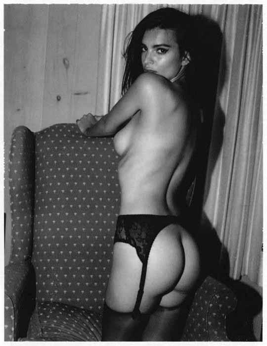 【外人】英国モデルのエミリー・ラタコウスキー(Emily Ratajkowski)の大胆なおっぱいフルヌードポルノ画像 1340