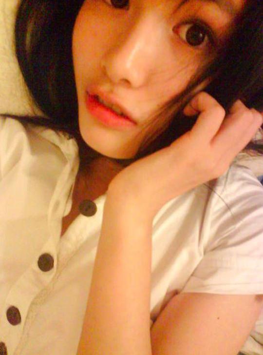 【外人】台湾人美少女の泡泡(パオパオ)が可愛すぎて勃起しちゃう自画撮りポルノ画像 1358