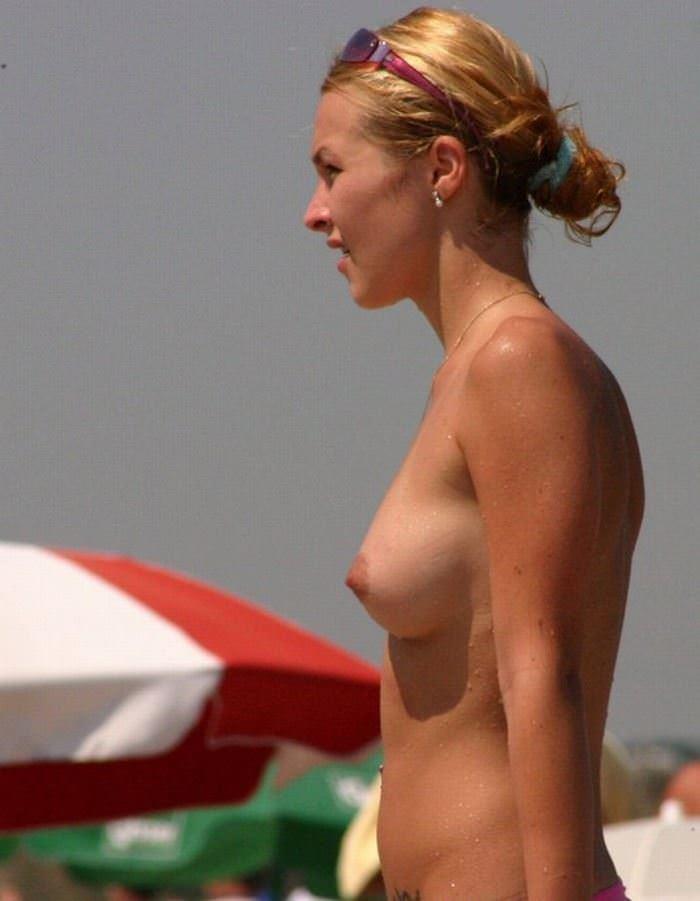 【外人】ヌーディストビーチに居る可愛い系の女子を集めた露出ポルノ画像 1440