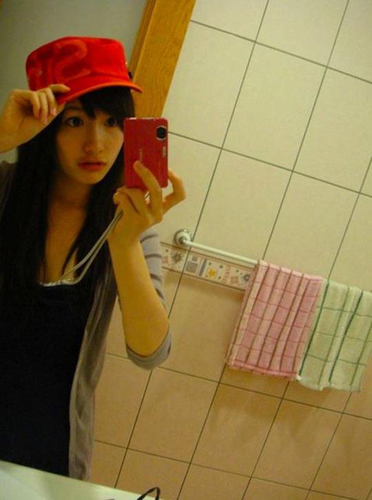 【外人】台湾人美少女の泡泡(パオパオ)が可愛すぎて勃起しちゃう自画撮りポルノ画像 1457