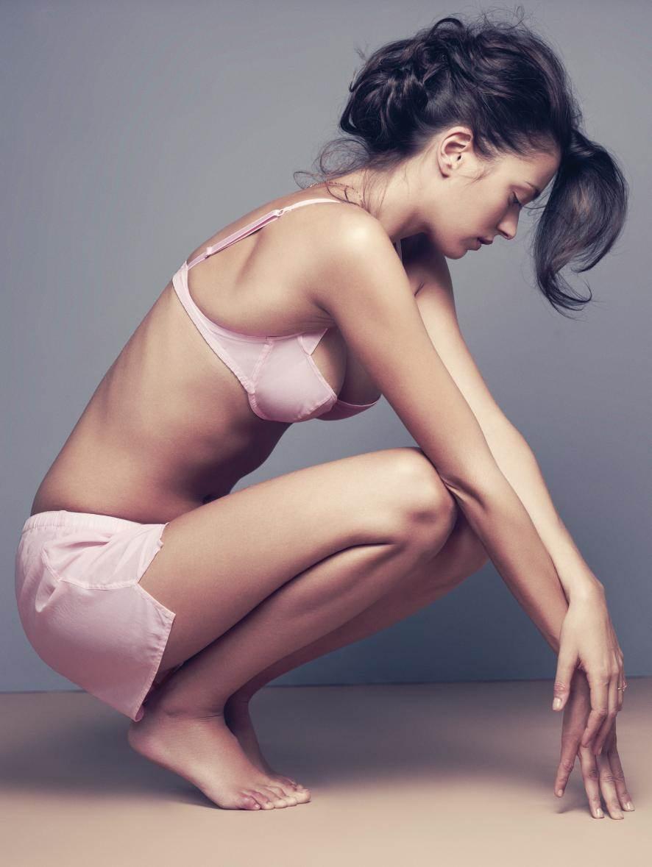 【外人】世界のトップモデルのモルガン・デュブレ(Morgane Dubled)のセクシー下着ポルノ画像 15131