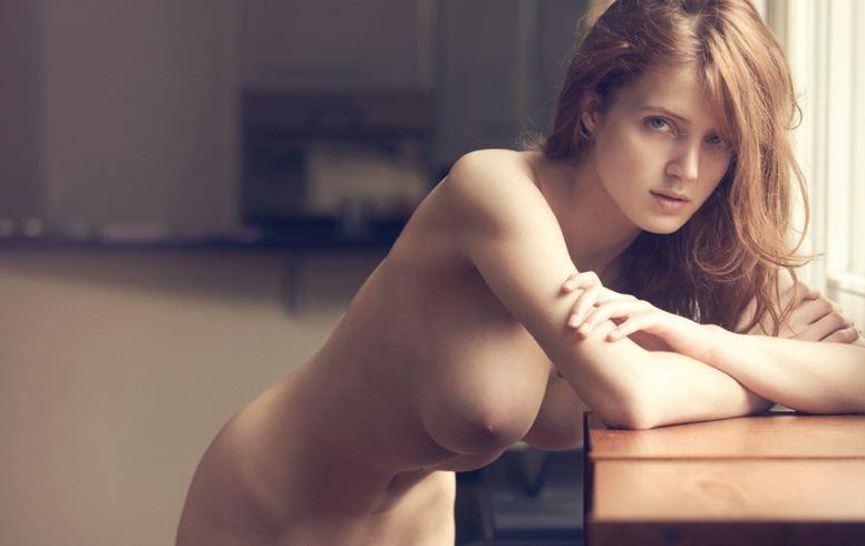 【外人】顔面だけで抜けるレベルのベルギーモデルのファニー・フランソワ(Fanny Francois)の美乳おっぱいポルノ画像 160