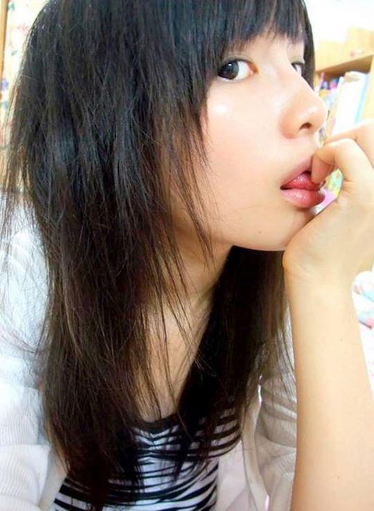 【外人】台湾人美少女の泡泡(パオパオ)が可愛すぎて勃起しちゃう自画撮りポルノ画像 1847