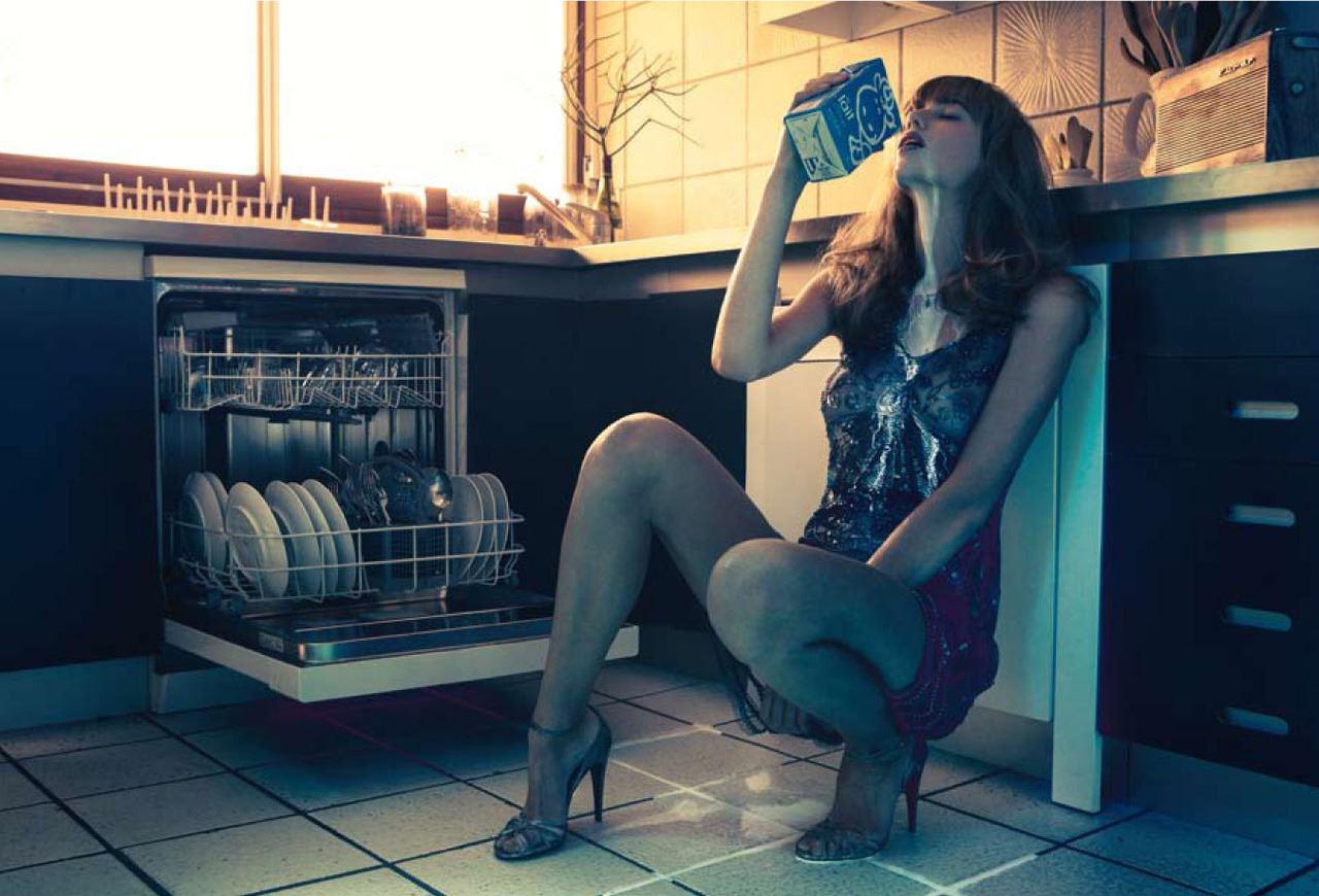 【外人】ベルギー人モデルEliza Sysが魅惑的な芸術的ヌードを披露するポルノ画像 195