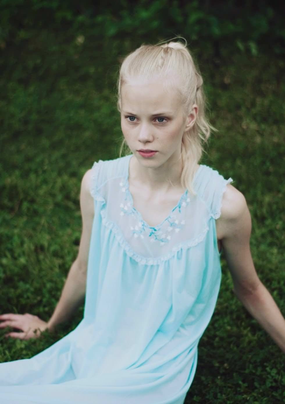 【外人】デンマークの妖精アメリー·シュミット(Amalie Schmidt)が異常な程可愛いポルノ画像 1983