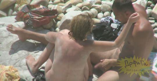 【外人】素人カップルが自然の中で青姦セクロスしてる盗撮ポルノ画像 2145