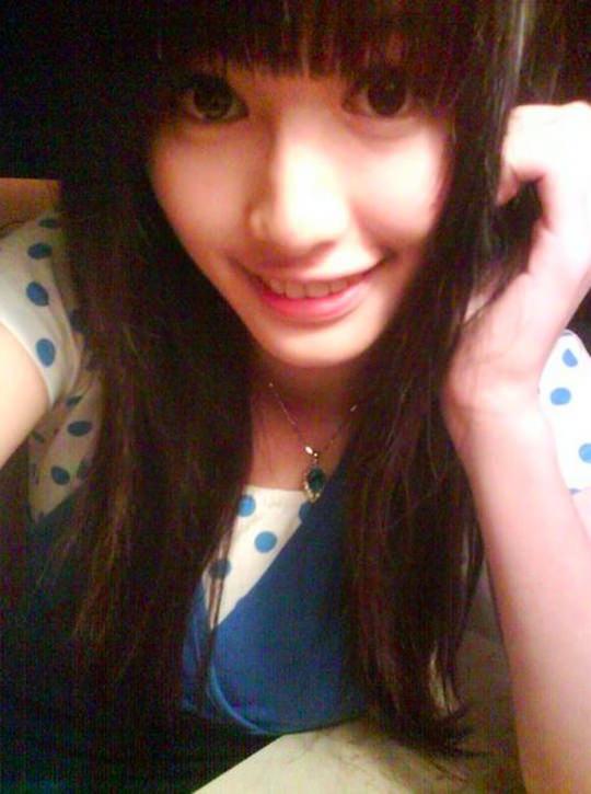 【外人】台湾人美少女の泡泡(パオパオ)が可愛すぎて勃起しちゃう自画撮りポルノ画像 2157