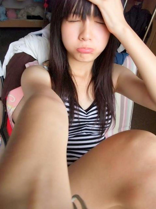 【外人】台湾人美少女の泡泡(パオパオ)が可愛すぎて勃起しちゃう自画撮りポルノ画像 2158