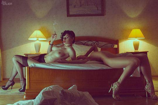 【外人】レズビアン達の幸せそうな濃厚セクロスポルノ画像 22102