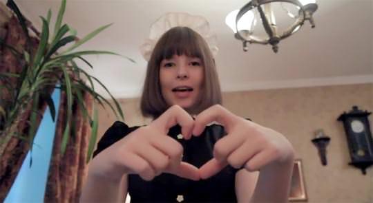 【外人】超かわいいロシア人メイドの美少女ポルノ画像 2221