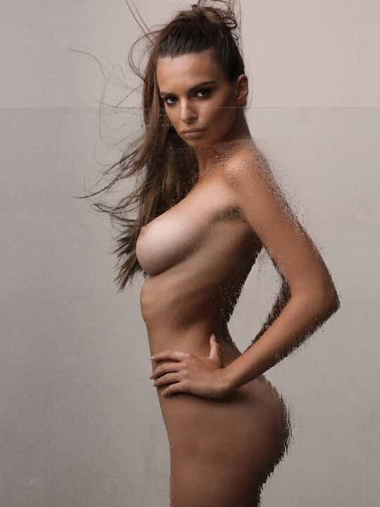【外人】英国モデルのエミリー・ラタコウスキー(Emily Ratajkowski)の大胆なおっぱいフルヌードポルノ画像 2225