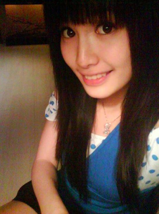 【外人】台湾人美少女の泡泡(パオパオ)が可愛すぎて勃起しちゃう自画撮りポルノ画像 2237