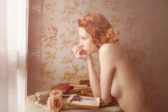 【外人】芸術的美しさを感じる美少女たちのセミヌードポルノ画像 2276