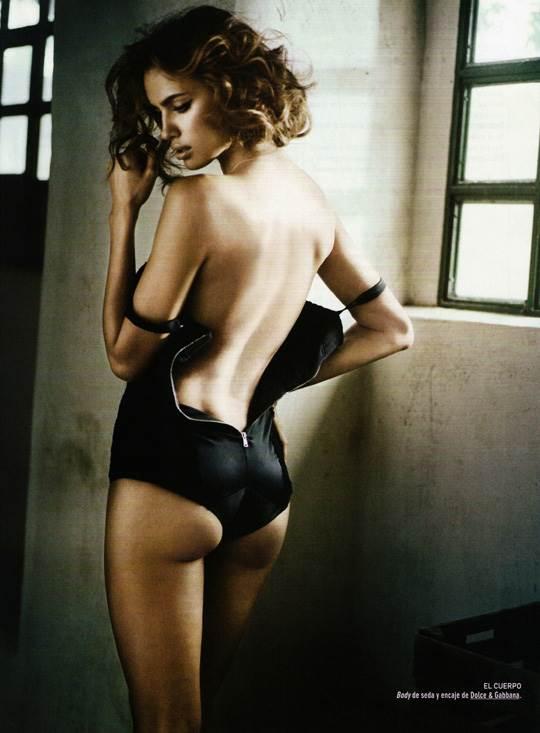 【外人】クリスティアーノ・ロナウド(Cristiano Ronaldo)のとんでもなく美人な恋人イリーナ・シェイク(Irina Shayk)の巨乳おっぱいポルノ画像 2453