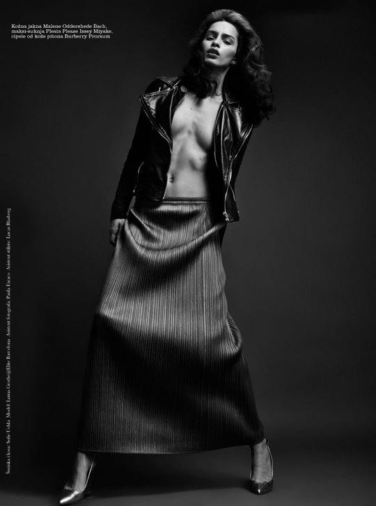 【外人】ブラジル人モデルのルマグローテ(Luma Grothe )が眼力で魅了するセミヌードポルノ画像 2612
