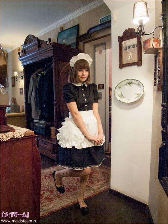 【外人】超かわいいロシア人メイドの美少女ポルノ画像 2712