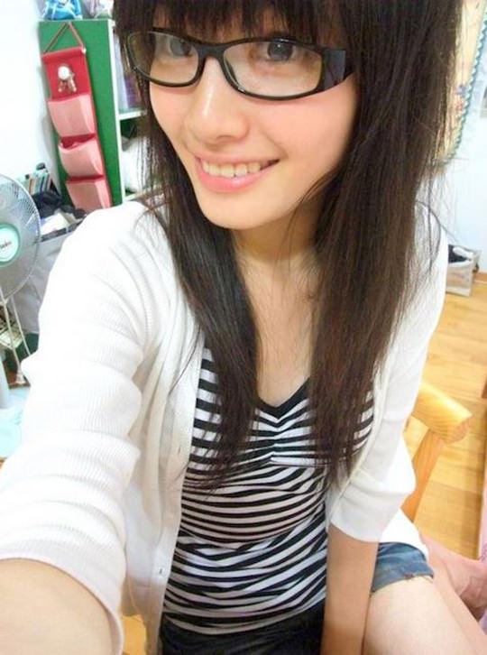 【外人】台湾人美少女の泡泡(パオパオ)が可愛すぎて勃起しちゃう自画撮りポルノ画像 2719