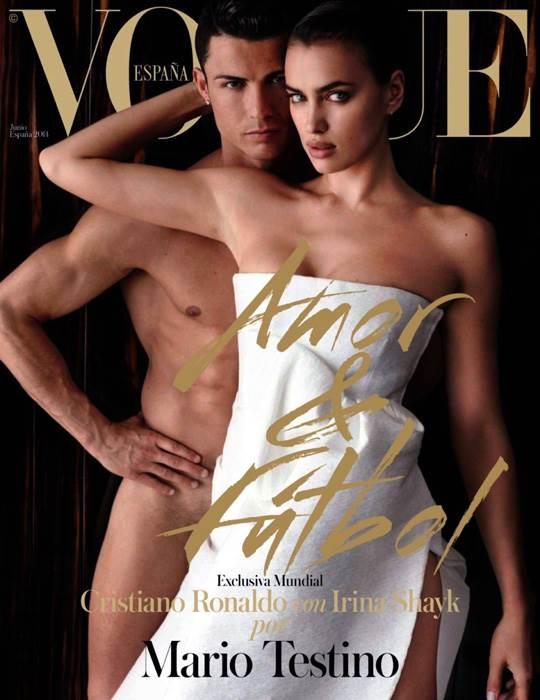 【外人】クリスティアーノ・ロナウド(Cristiano Ronaldo)のとんでもなく美人な恋人イリーナ・シェイク(Irina Shayk)の巨乳おっぱいポルノ画像 2737