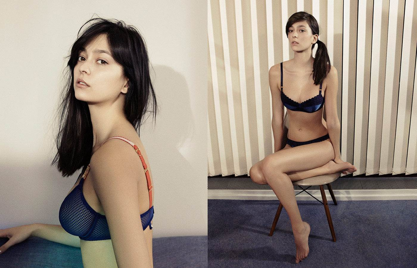 【外人】世界のトップモデルのモルガン・デュブレ(Morgane Dubled)のセクシー下着ポルノ画像 2755