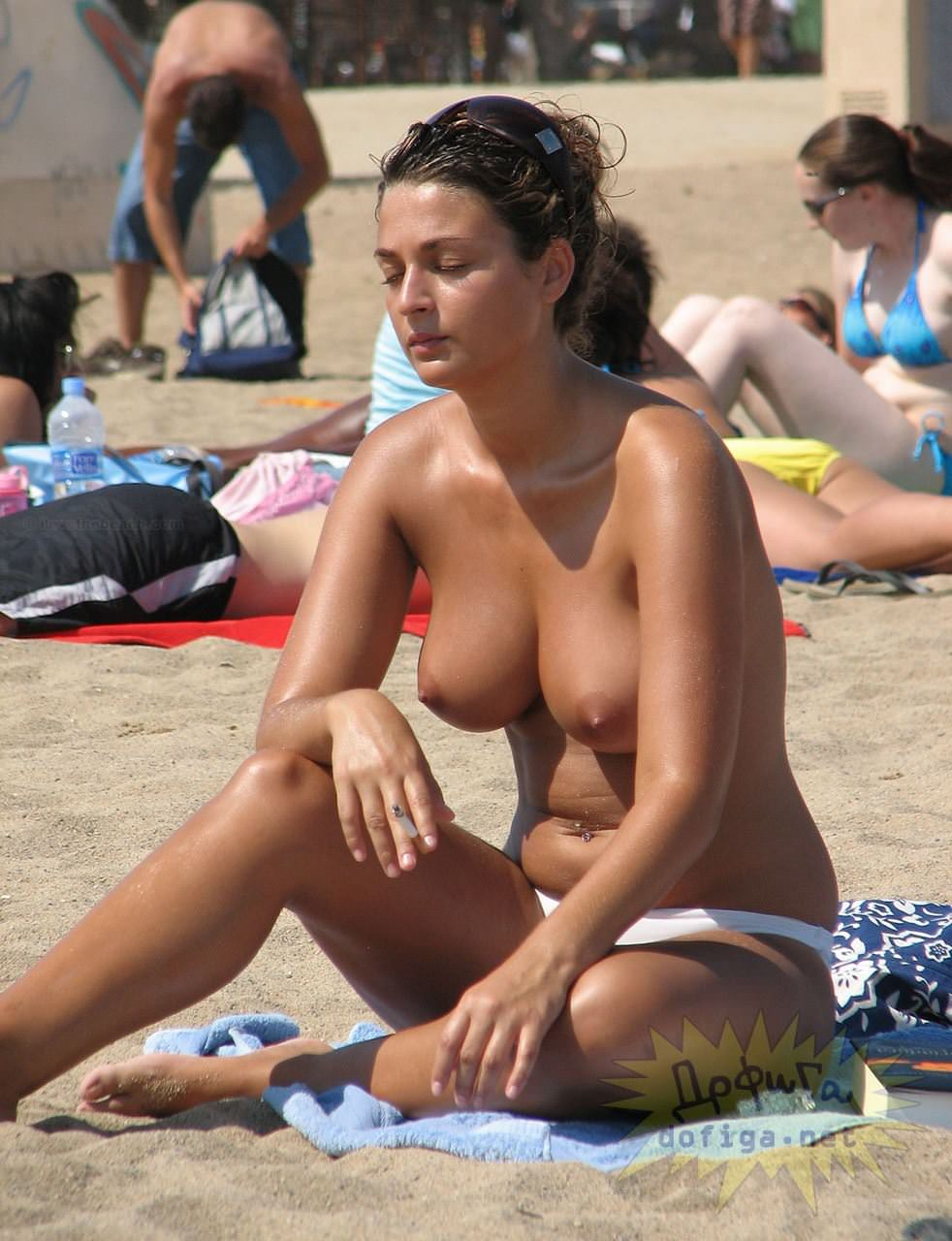 【外人】美女が多すぎる素人ロシア人ヌーディストビーチのポルノ画像 2841