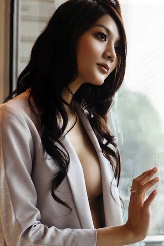 【外人】台湾美女マギー・ウー(吳亞馨)が彼氏とのハメ撮りが流出したポルノ画像 2902