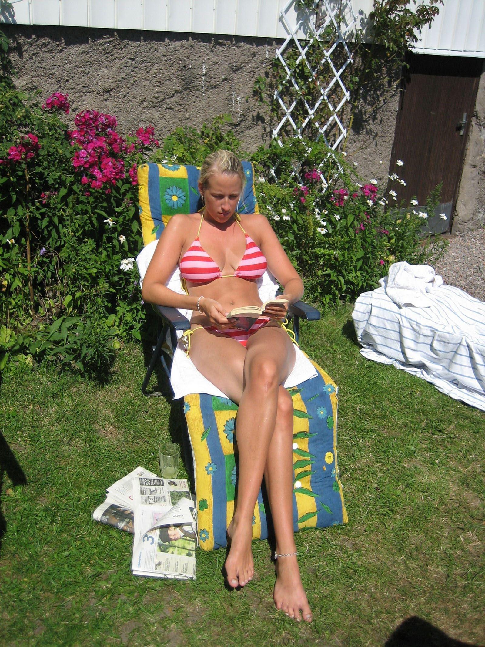 【外人】スウェーデンの金髪素人美女が彼氏とエッチして妊娠した姿を晒すポルノ画像 2930