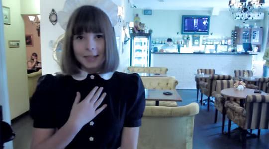 【外人】超かわいいロシア人メイドの美少女ポルノ画像 297