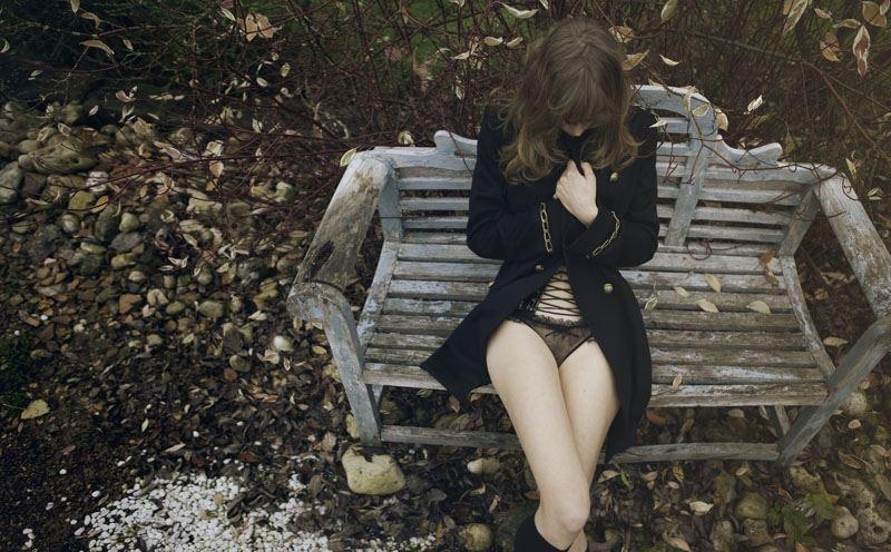 【外人】ベルギー人モデルEliza Sysが魅惑的な芸術的ヌードを披露するポルノ画像 313