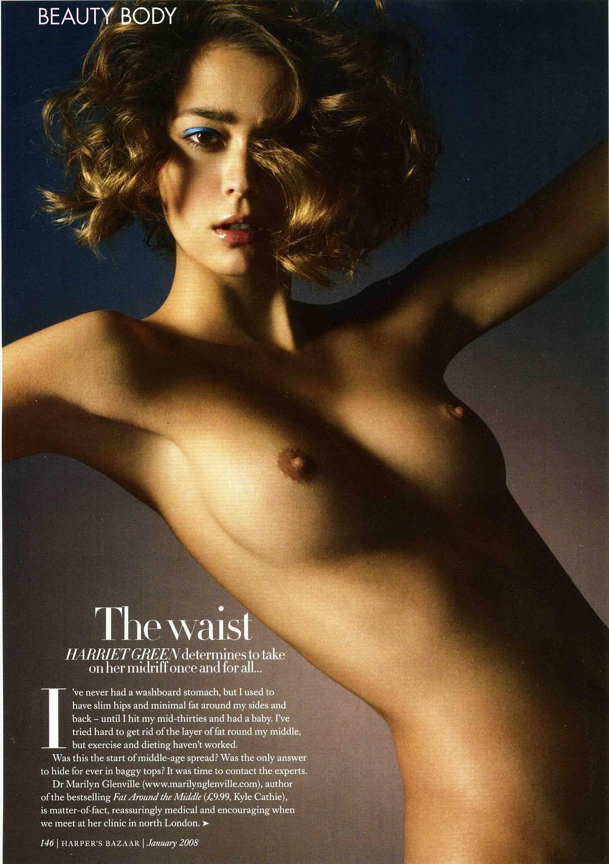 【外人】フランス人スーパーモデルのモルガン・デュブレ(Morgane Dubled)がファッション誌で乳首をさらるおっぱいポルノ画像 3180