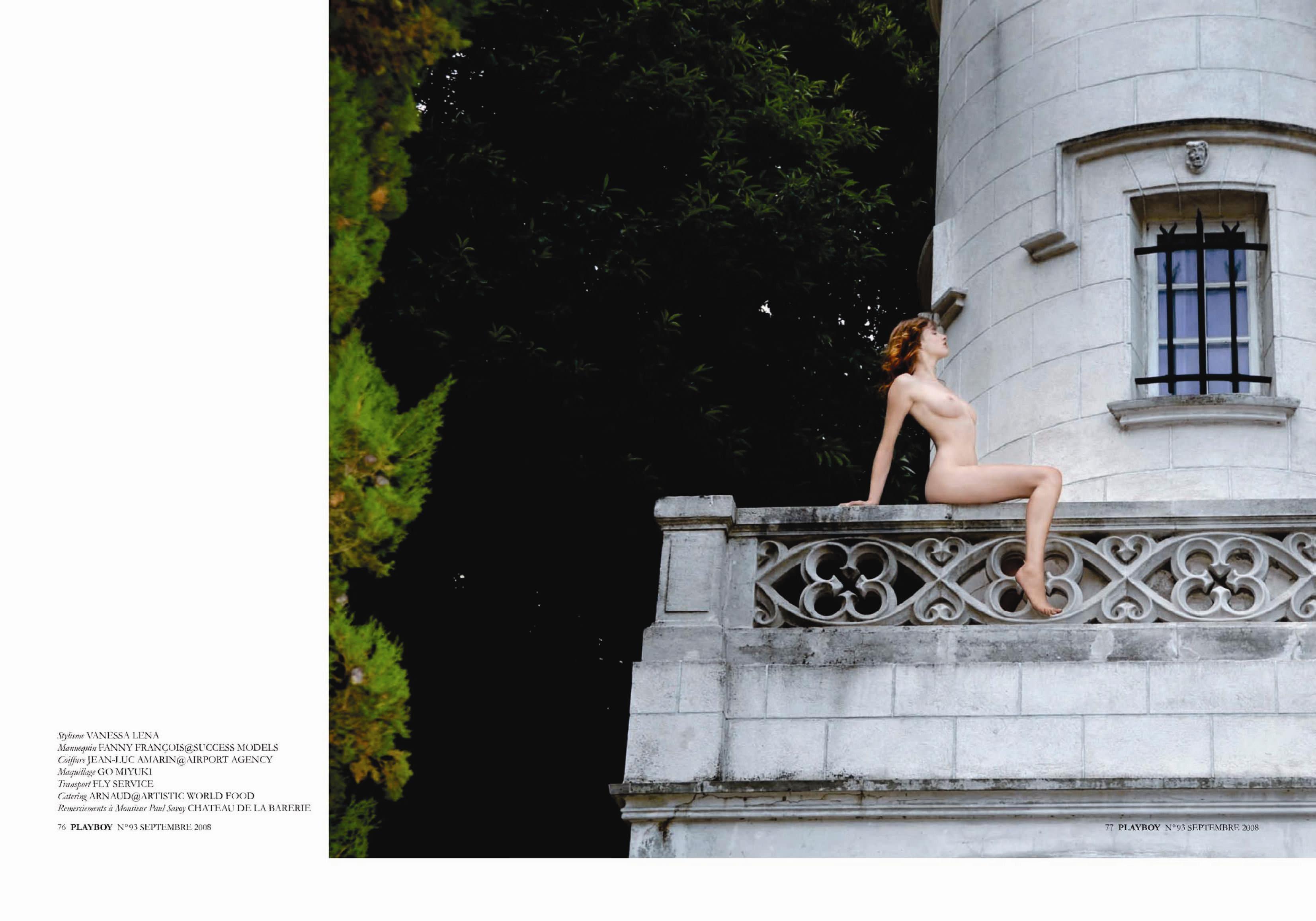 【外人】ベルギー出身ファニー・フランソワ(Fanny Francois)雑誌で乳首を許可したポルノ画像 3307