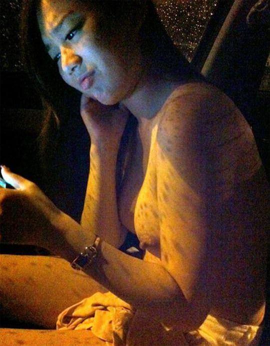 【外人】台湾美少女がカーセックスのハメ撮りネット公開してるポルノ画像 3750
