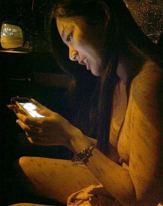 【外人】台湾美少女がカーセックスのハメ撮りネット公開してるポルノ画像 3845